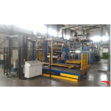 3 layers DOLCI NEXTROM Cast film extrusion line