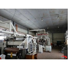 3 layers WINDMOELLER  FILMATIC M Cast film extrusion line