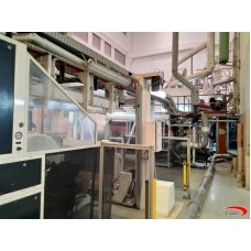 3 layers WINDMOELLER & HOLSCHER  FILMEX Cast film extrusion line