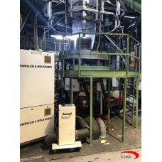 5 layers WINDMOELLER & HOELSCHER  film blowing machine