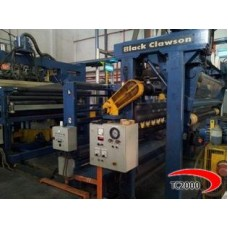 3 layers BLACK CLAWSON  Cast film extrusion line