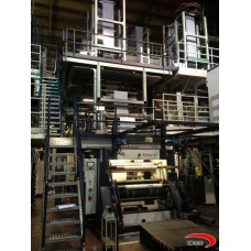 3 layers KIEFEL KIRION ( COEX ) blown film plant
