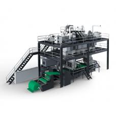 AW-1600S / 2400S / 3200S Одиночная машина для производства нетканых материалов Spunbond