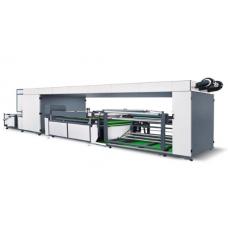 NWF1400 I Тканая Трафаретная Печатная Машина с автоматическим цветным рулоном