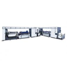 NWF1400 II Тканая Трафаретная Печатная Машина с двумя цветными рулонами