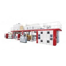 Флексопечатная машина прямой печати для текстильного материала CI